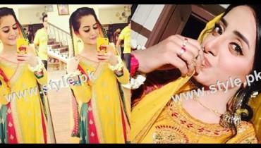 See Pakistani Celebrities who look stunning in yellow