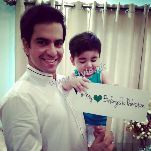 Pictures of Celebrity Kids on Independence Day 2k15
