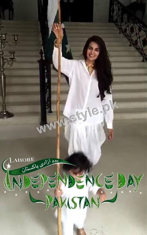 Pictures of Celebrity Kids on Independence Day 2k15 (7)