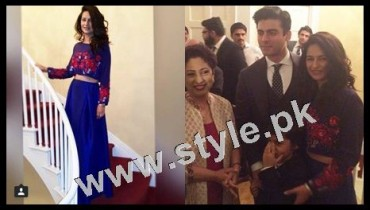 See Pictures of Fawad Khan in NewYork with his Family