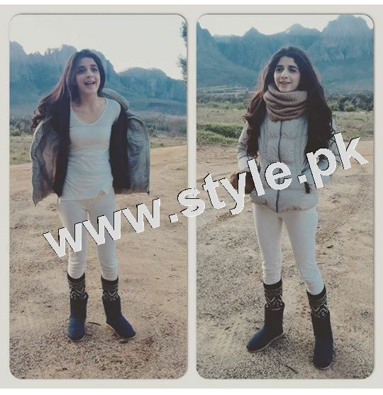 See Pictures of Mawra Hocane in South Africa