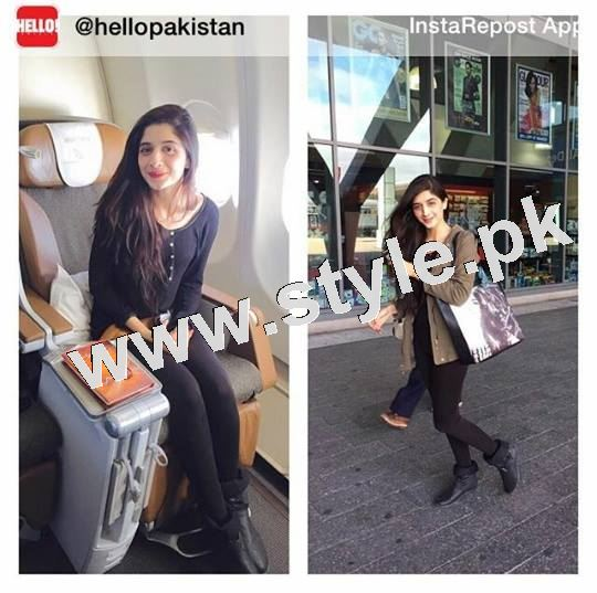 Pictures of Mawra Hocane in South Africa 2