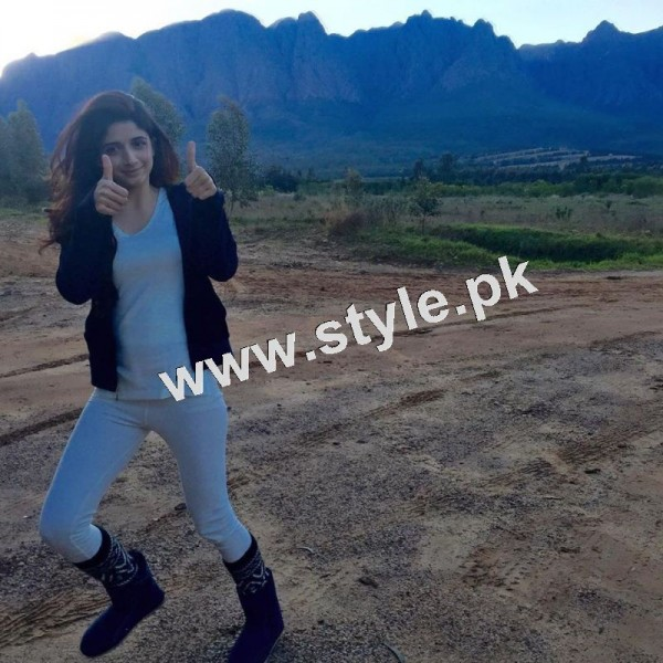 Pictures of Mawra Hocane in South Africa