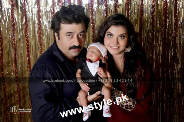 Pictures of Pakistani Celebrities with their newly born babies 8
