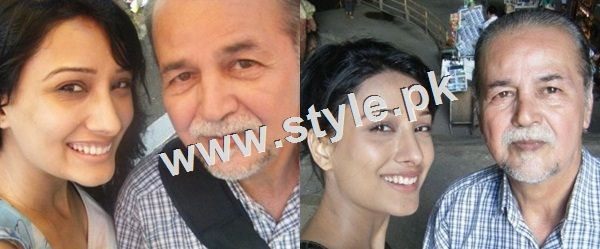 Pictures of Pakistani celebrities with their fathers 16