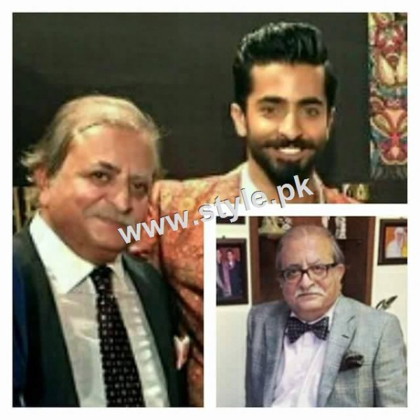 Pictures of Pakistani celebrities with their fathers 3