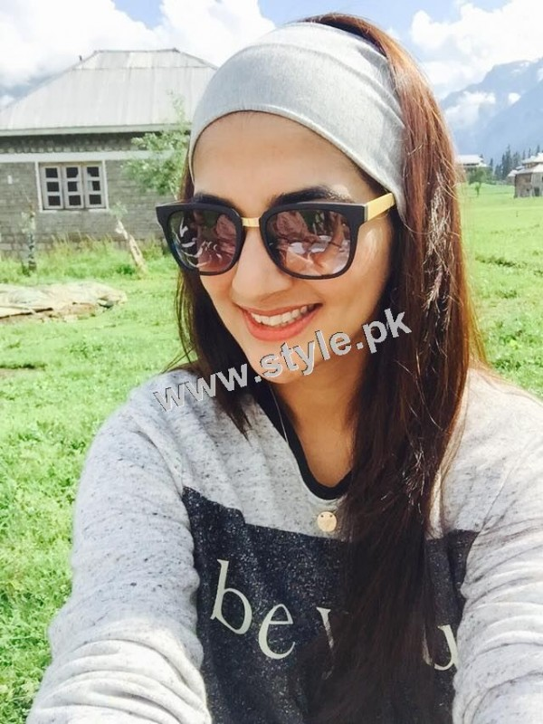 Rabab Hashim is enjoying vacations with Family  (9)