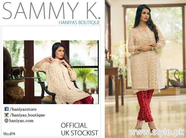 Sammy.K Party Wear Dresses 2015 For Girls 4