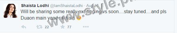 Shaista Lodhi is hosting Morning Show on Hum Sitaray after her arrest warrants (2)