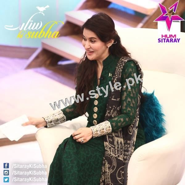 Shaista Lodhi's first appearance as a host after her arrest warrants (12)