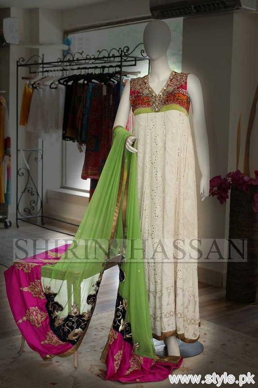 Shirin Hassan Formal Dresses 2015 For Girls 10