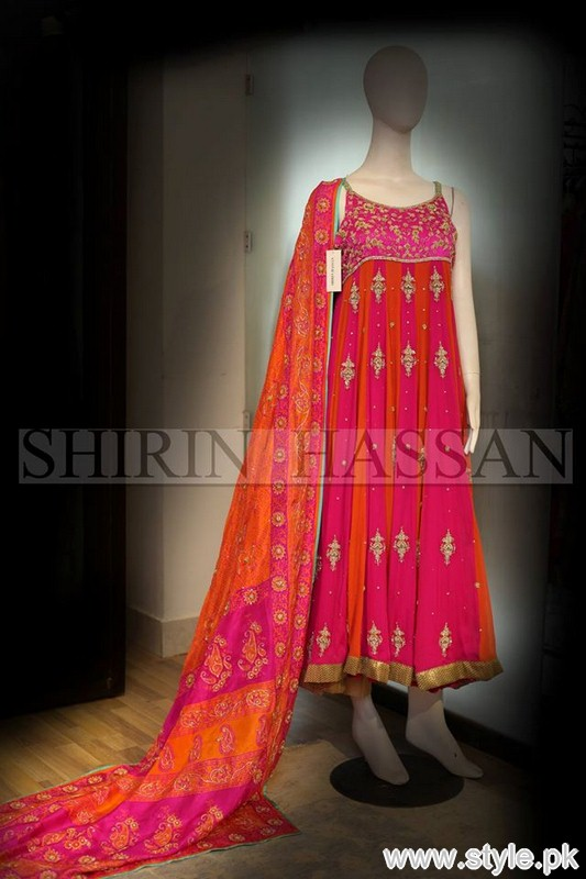 Shirin Hassan Formal Dresses 2015 For Girls 2
