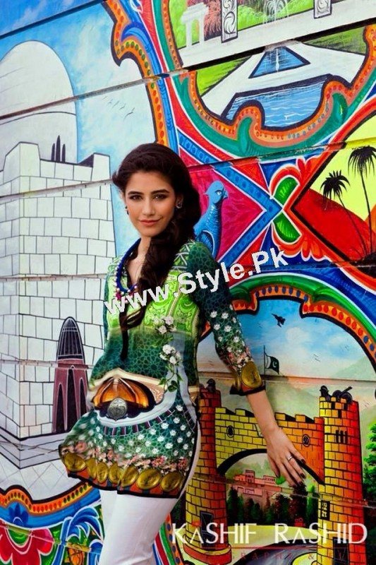 Syra Yousuf's shoot for OK Pakistan (2)