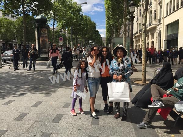 The controversy Queen Meera is enjoying in Paris right after her arrest warrants (3)