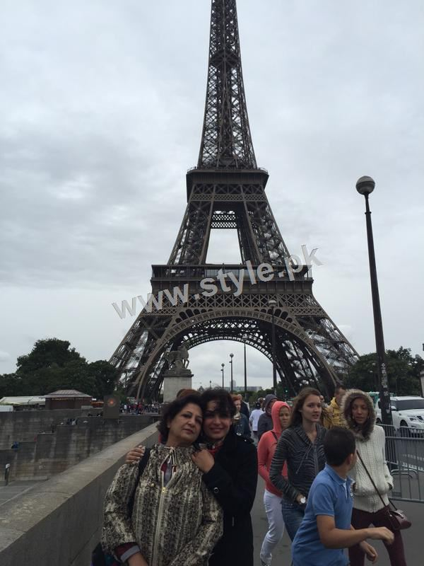 The controversy Queen Meera is enjoying in Paris right after her arrest warrants (4)