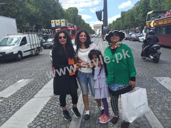 The controversy Queen Meera is enjoying in Paris right after her arrest warrants (5)