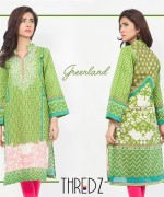 Thredz Stitched Lawn Collection 2015 Volume 2 For Women