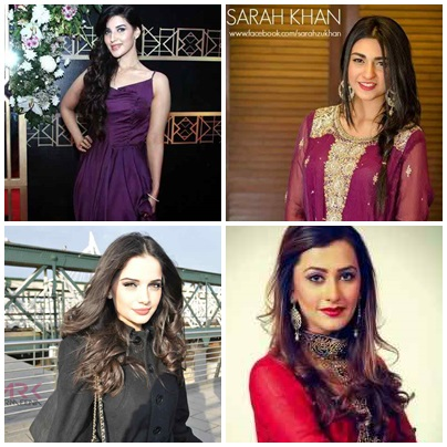 Top 5 Emerging Pakistani Actresses In 2015
