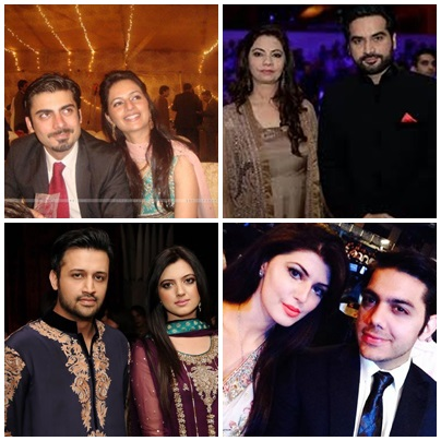 Top 5 Famous Wives 2015 Of Pakistani Actors