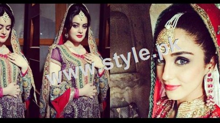 See Unmarried Celebrities stunned in Bridal looks