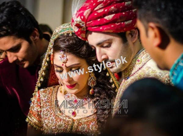 Wedding Pictures of Famous Pakistani Celebrities 22