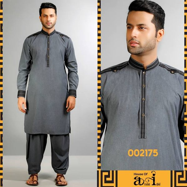 Arsalan Iqbal Kurta Collection 2015 For Men001