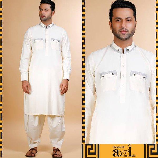 Arsalan Iqbal Kurta Collection 2015 For Men009
