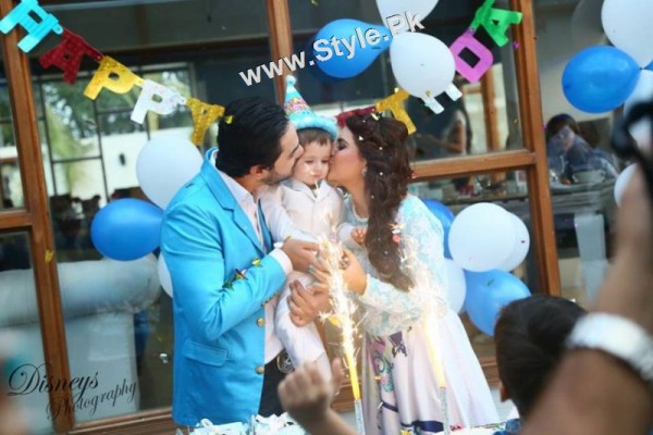 See Birthday Celebrations of Fatima Effendi and Kanwar Arsalan's son