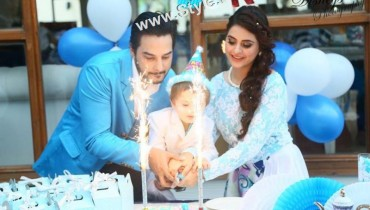 See Birthday Celebrations of Fatima Effendi and Kanwar Arsalan's son