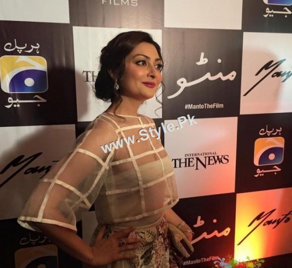 Celebrities at Lahore Premiere of Manto (6)