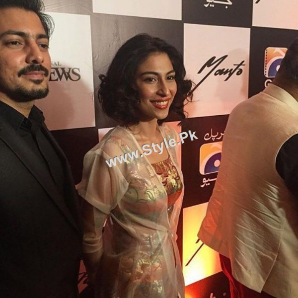 Celebrities at Lahore Premiere of Manto (8)