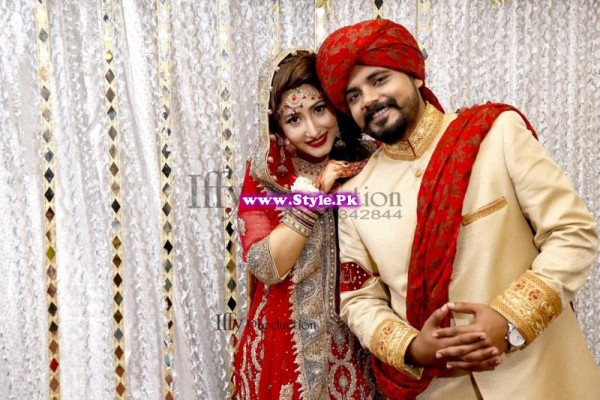 Complete Wedding Photo shoot of Actress Pari Hashmi (10)