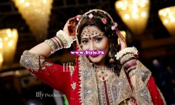 Complete Wedding Photo shoot of Actress Pari Hashmi (15)