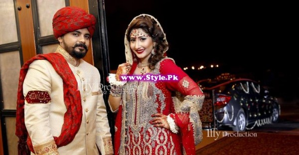 Complete Wedding Photo shoot of Actress Pari Hashmi (4)