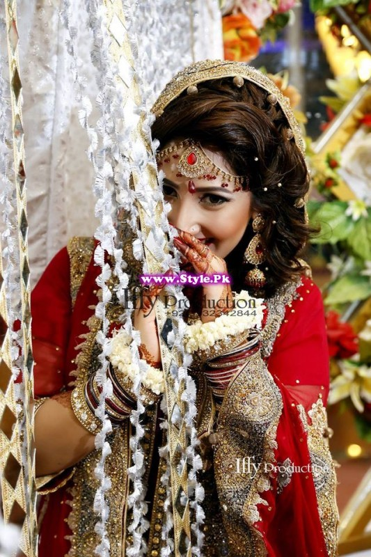 Complete Wedding Photo shoot of Actress Pari Hashmi (7)