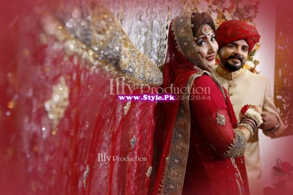 Complete Wedding Photo shoot of Actress Pari Hashmi (9)