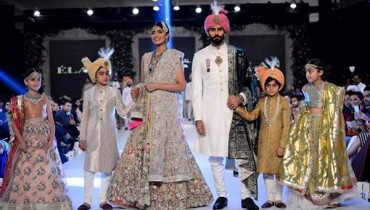 Elan Collection At PFDC Loreal Paris Bridal Week 20150011