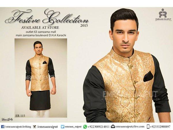 Emraan Rajput Kurta Collection 2015 For Men001