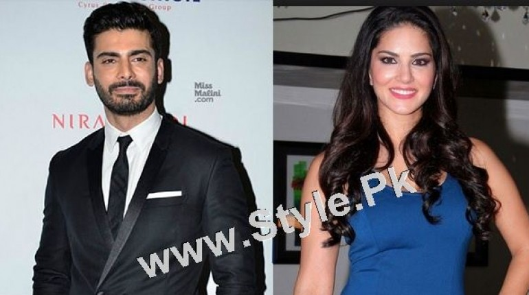 """See Fawad Khan going to work with Sunny Leone in """"Ae Dil Hai Mushkil"""""""