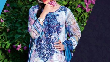 Five Star Textiles Eid Ul Azha Collection 2015 For Women007