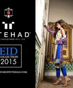 Ittehad Textiles Eid Ul Azha Collection 2015 For Women