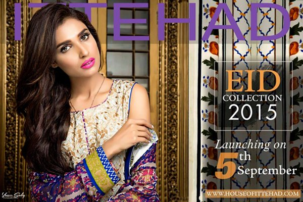 Ittehad Textiles Eid Ul Azha Collection 2015 For Women002