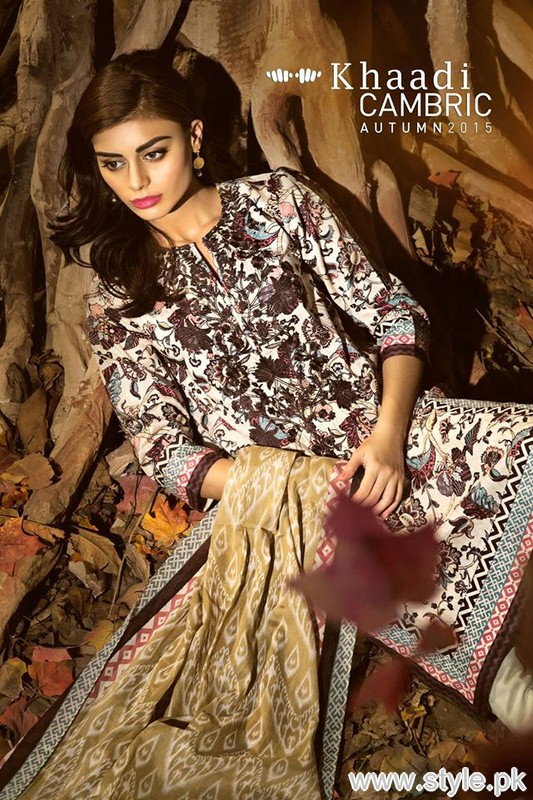 Khaadi Cambric Dresses 2015 For Autumn 6