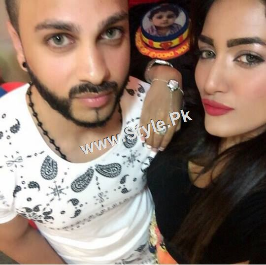 Mathira Celebrating her son's first Birthday (3)