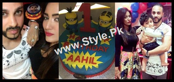 Mathira Celebrating her son's first Birthday (5)