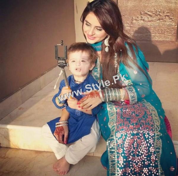 Pakistani Celebrities on Eid ul Adha 2015 1 (4)