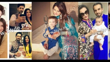 See Pakistani Celebrities on Eid ul Adha 2015