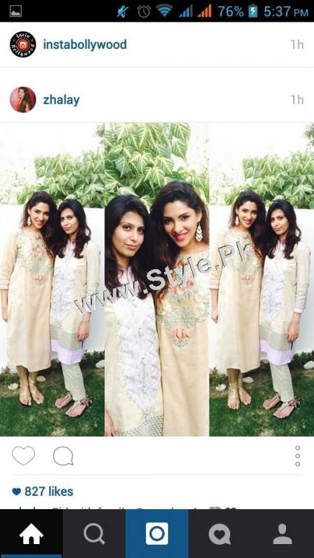 Pakistani Celebrities on Eid ul Adha 2015 (4)