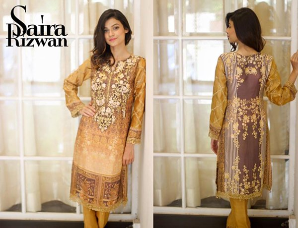 Saira Rizwan Eid Ul Azha Collection 2015 For Women