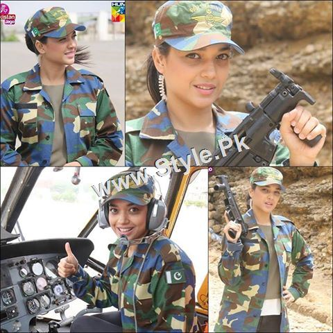See Sanam Jung's look for Defence Day 2015